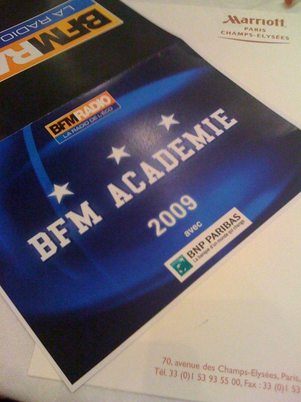 Bfm-academy-2009